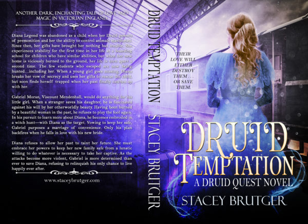 Druid Temptation Print Cover by Stacey Brutger