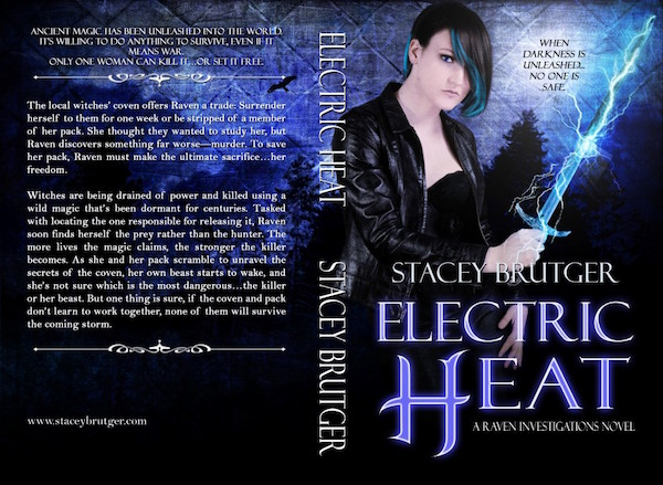 Electric Heat Print Cover by Stacey Brutger