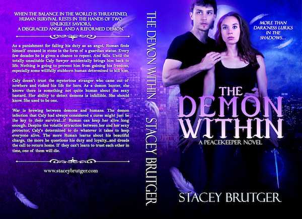 The Demon Within Print Cover by Stacey Brutger
